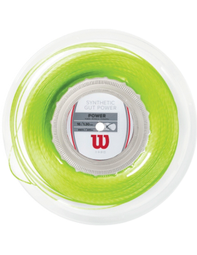 WILSON Synthetic Gut Power 1.30 Lime 200m