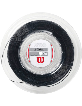 WILSON Synthetic Gut Power 1.30 Black 200m