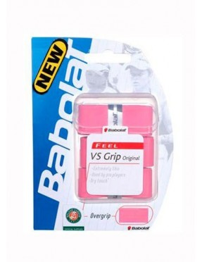 BABOLAT VS Grip Original x3 (Rosa)