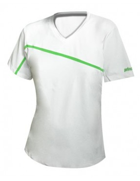 PRINCE Polo 3W055 Lady (Blanco/Azul)