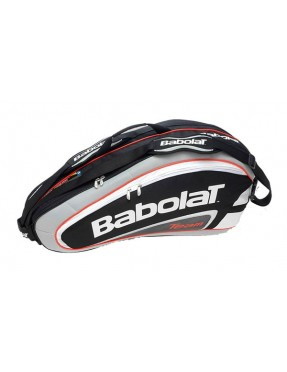 BABOLAT Team Line Racket Holder x 6 (Negro)